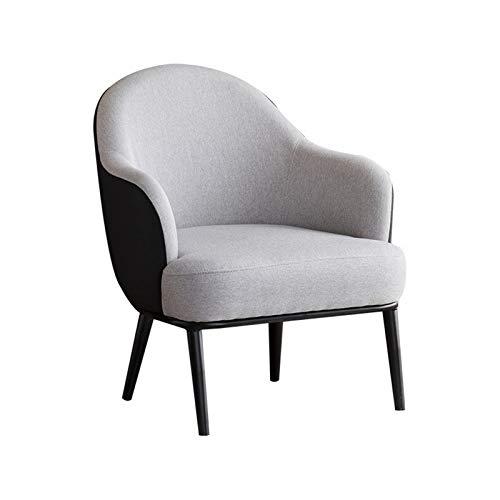 Feixunfan Poltrona Relax Nordic Single Sofa Chair Piccolo Appartamento Camera da Letto Balcone Pigri...