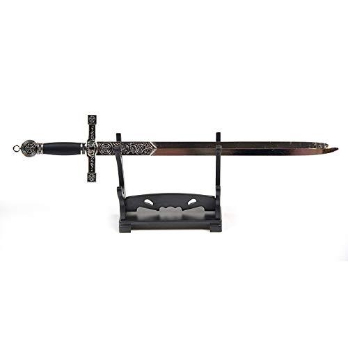 Brieföffner in Form von König Arthus Excalibur mit Ständer, Bürozubehör, Heimdekor, Geschenk für Sammler und Fans