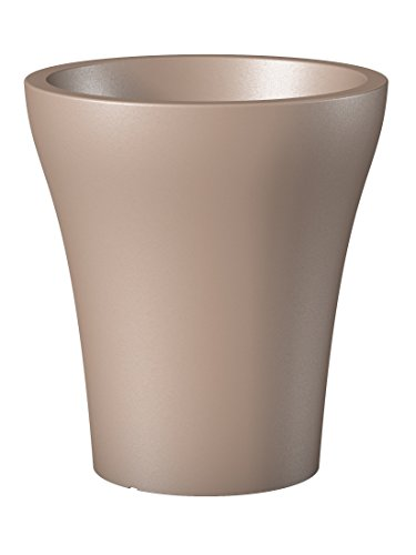 Scheurich 55460 264/32 No1 Style High Pot de Fleurs Plastique Living Taupe 29 x 29 x 32 cm