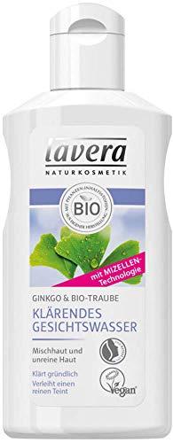 Lavera Klärendes Gesichtswasser Ginkgo & Bio-Traube 3er Pack (3 x 125ml)