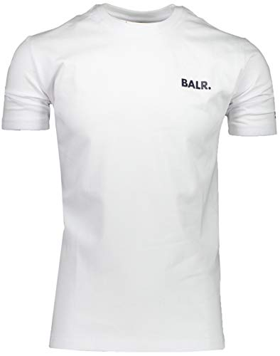 BALR. T-Shirt Weiß - Regular Fit - 10423 (L)