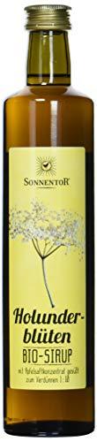 Sonnentor Bio Holunderblüten-Sirup, 2er Pack (2 x 500 ml)