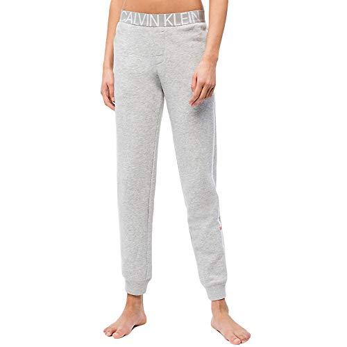 Calvin Klein Damen Jogger Hose, Grau (Grey Heather 020), W30 (Herstellergröße: M)