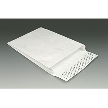 Peel /& Seal Free Shipping SOLID WHITE MAILERS 25 Tyvek Envelopes 9 X 12