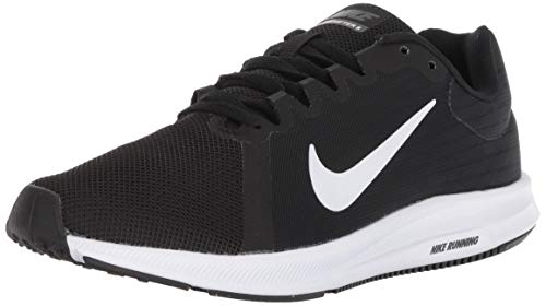 Nike Men's Downshifter 8 Running Shoe, Black/White/Anthracite, 7 Regular US
