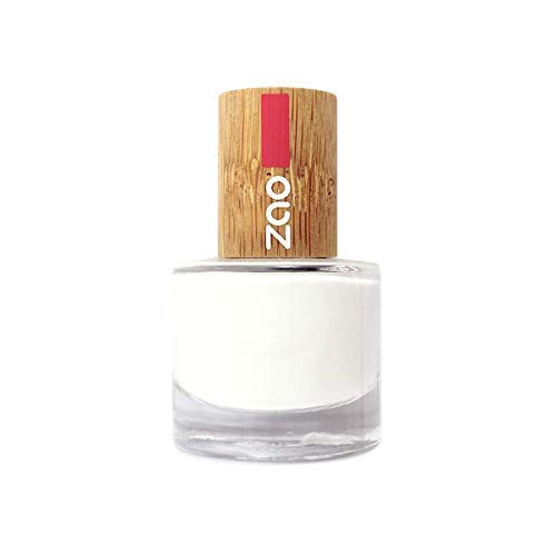ZAO French Manicure 641 weiss französische Maniküre, Nagellack mit Bambus-Deckel (Naturkosmetik)