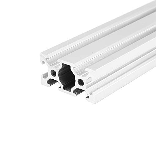 TuToy 100-1200Mm Silver 2040 V-Slot Aluminum Profile Extrusion Frame For Cnc Tool Diy - 1000Mm