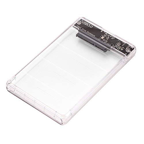 USB3.0 recinto externo para 2.5 SATA SSD HDD disco duro portátil caso transparente caja para 2.5 SSD/HDD