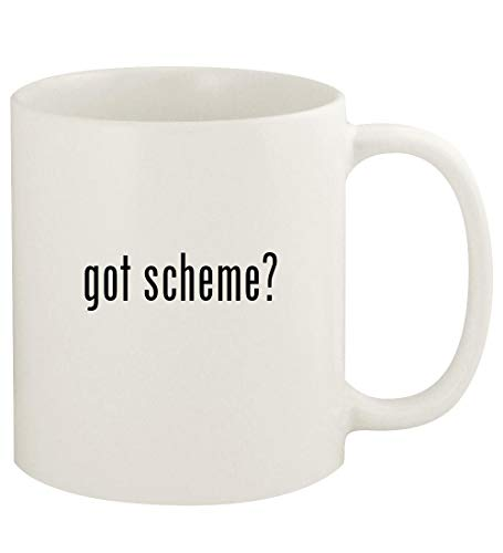 got scheme? - 11oz Ceramic White Coffee Mug Cup, White