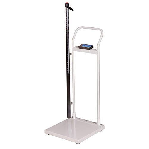 Brecknell HS-300 Electronic Height and Weight Physician Scale; up to 660lb. Capacity, Easy to Read LCD, Digital Doctor Medical Scale