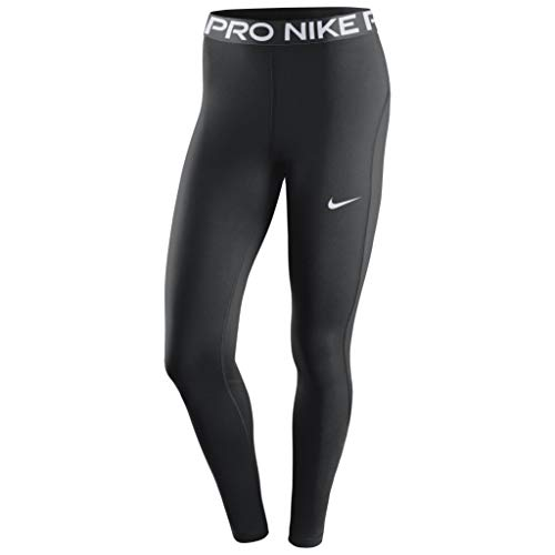 Nike Damen W NP 365 Tight Leggings, Black/(White), S