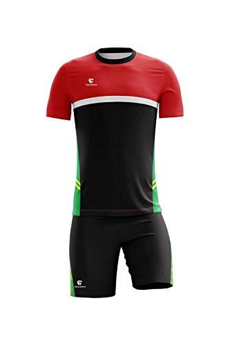 Custom Uniform Name & Number Soccer Jersey Shorts Uniform Size L