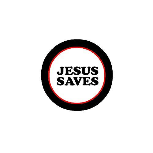 10 insignias religiosas de Jesús Save 3.2 cm para chaquetas, mochilas, etc.