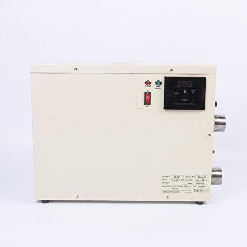 wotefusi Water Heater Thermostat 380V 15KW Swimming Pool &SPA Pool Bath Hot Tub Electric Water...