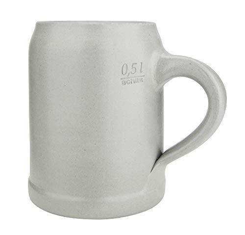 Salt Glaze German Stoneware Beer Mug 0.5 Liter | Made in Germany