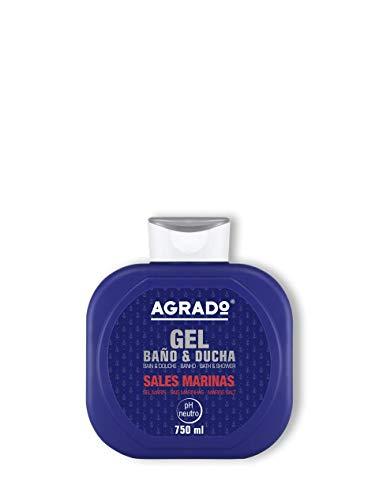 Feuchtigkeitsbad und Duschgel, SALES MARINAS PH neutrales Badegel 750 ml - AGRADO
