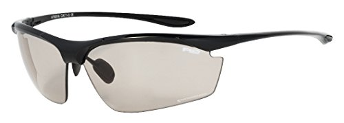 R2 Sportbrille Reak/Fahrradbrille/Sonnenbrille /Multisportbrille/Radbrille /Triathlon/Volleyball/Extrem/Ski/AT031/Photochromatischen Gläsern (AT031A)
