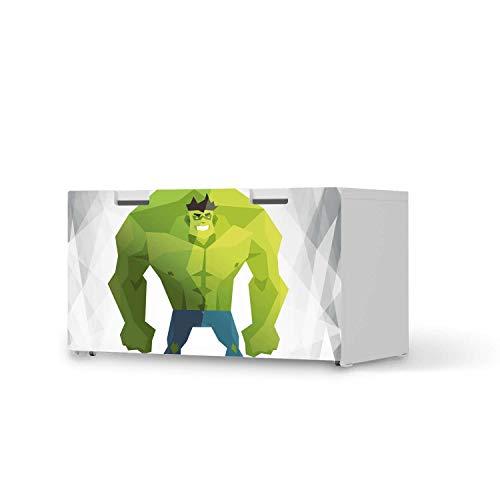 creatisto Kinder Möbelfolie - passend für IKEA Stuva Banktruhe I Tolle Kinderzimmer Einrichtung - Möbelsticker für Kinder- und Babyzimmer I Design: Mr. Green