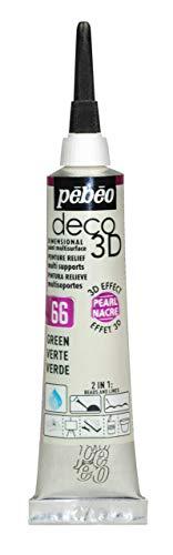 PEBEO Deco 3D Pearl, grün, 20ml