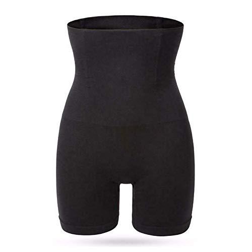 Vrouwen Hoge Taille Shaper Panties Ademende Body Shaper Afslanken Tummy Ondergoed M/L Zwart