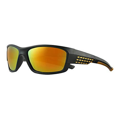 Gafas de Sol de Moda Hombres y Mujeres Gafas de Sol de Alta definición Gafas polarizadas Deporte al Aire Libre Uv400 Gafas de Sol a Prueba Gafas