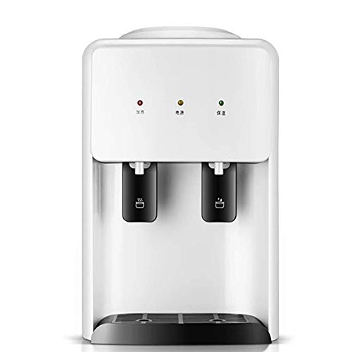 LMDH Water Dispenser Desktop Startpagina Small Desktop Mini Refrigeration Verwarming slaapzaal Student Ice Temperatuur Verwarming Automatic