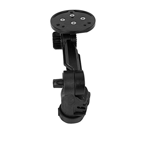 YakAttack Round Base Fish Finder Mount with Track Mounted LockNLoad Mounting System