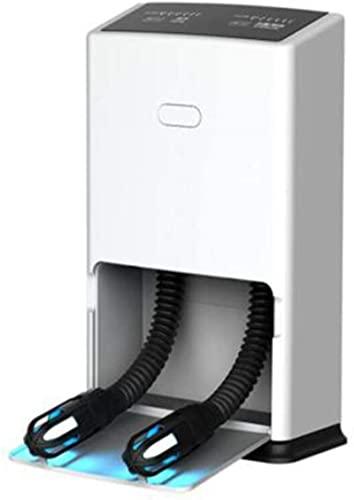 KAKTT Secador de Zapatos Eléctrico Portátil Doble.2 temporizadores, ozono de desinfección UV, dormitorios habituales en el hogar, artículos Esenciales para el Invierno