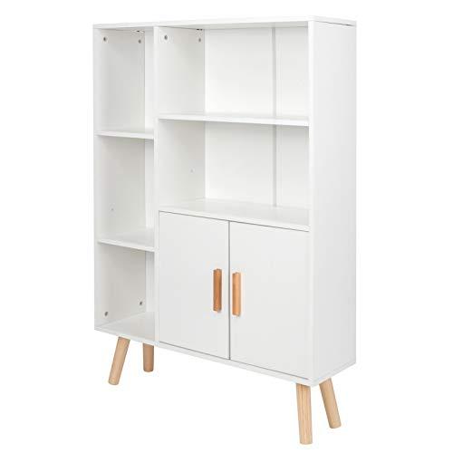 Armoire de rangement meubles de bureau panneau de particules Design multifonctionnel 9.3x31.5x42.5in bibliothèque moderne pour bureau à domicile