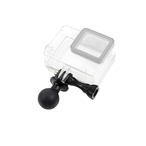 1 Universal Ball Mount Base Adapter with Thumb Screw for GoPro Hero 9, 8 Black, 7 Black, 7 Silver, 7 White, 6, 5, 4, 3+, 5Session, MAX, DJI Osmo Action Sports Camera