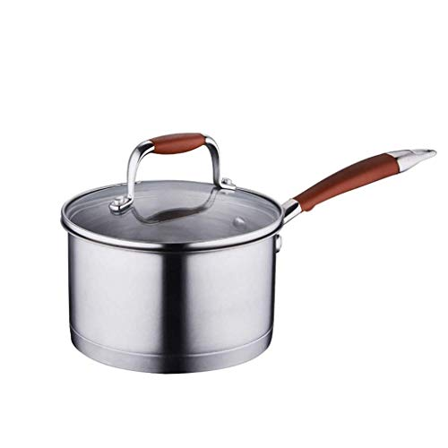XXDTG Pintes Casserole avec Couvercle, Sauce antiadhésives avec Couvercle, Petit Pot avec Couvercle, en céramique antiadhésives Casserole