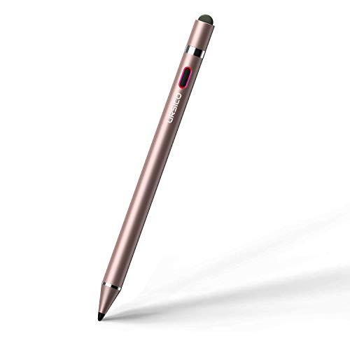 URSICO Stylus Pen fur Apple iPad Active Stift 10 mm Spitze mit Palm Rejection fur iPad 678Gen iPad Mini 5Gen iPad Air 34Gen iPad Pro 11 129 34Gen Kompatibel ab 2018Rosegold