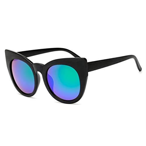 HZOLJVN Gafas De Sol Unisex Gafas De Sol De Imitación De Madera Retro Gafas De Sol De Gran Tamaño Gafas De Sol De Moda Verde