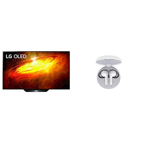 LG OLED TV AI ThinQ OLED65BX6LB, Smart TV 65  , Processore α7 Gen3 con Dolby Vision IQ Dolby Atmos + LG Cuffie Bluetooth Wireless In Ear TONE Free FN4 White