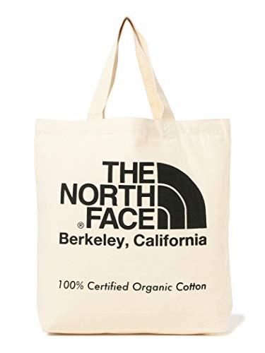 [ビームス] THE NORTH FACE ザノースフェイス バッグ オーガニックコットン トートバッグ メンズ ナチュラルxブラック One Size