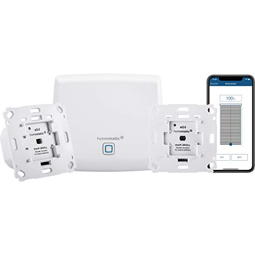 Homematic IP Smart Home Starter Set Beschattung - Intelligente Rollladensteuerung per Smartphone, 151670A0