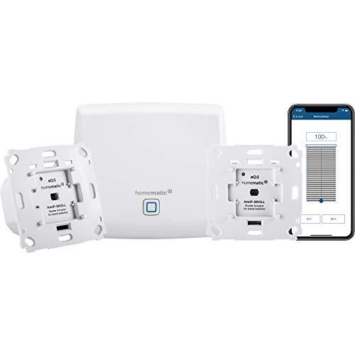 Homematic IP Smart Home Starter Set Beschattung - Intelligente Rollladensteuerung per Smartphone, 151670A0
