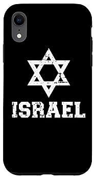 iPhone XR Israel David star Case