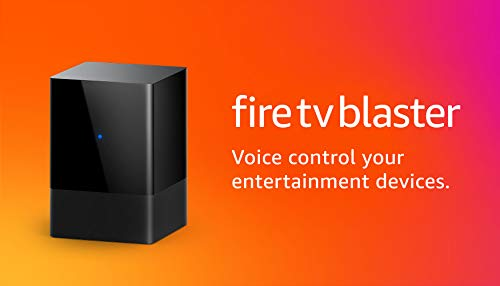 Fire TV Blaster | Add Alexa voice controls for power and volume on your TV...