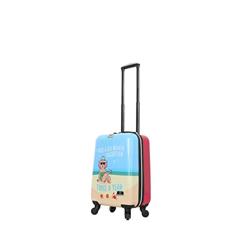 HALINA Aunty Acid Vacation 20' Hard Side Spinner Luggage, Multicolor