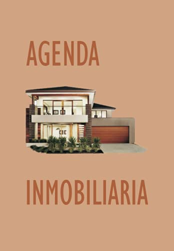 AGENDA INMOBILIARIA: Libro agenda para vendedores de pisos