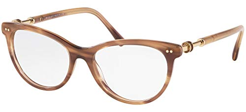 Bvlgari Gafas de Vista DIVAS' DREAM BV 4174 Striped Brown 54/16/140 mujer