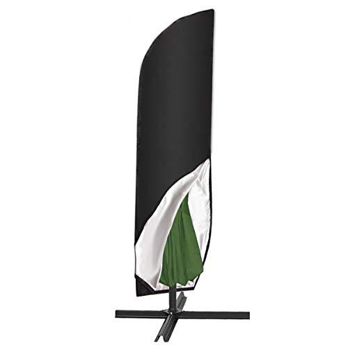 SanGlory 420D Schutzhülle für Sonnenschirm bis Ø 400 cm Regenschirm Abdeckung Wetterfeste Outdoor Universal-Hülle Bahamas Serie für Standschirm Ampelschirm Hülle 265CM(50x70x40cm)