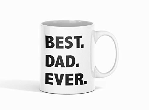 Shirtinator Tasse Papa Geschenk I Best Dad Ever I Geschenk-Ideen Vatertag Geburtstag Vatertagsgeschenk