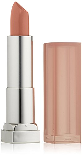 Maybelline New York Color Sensational Nude Lipstick Satin Lipstick, Blushing Beige, 0.15 Ounce (Pack of 1)