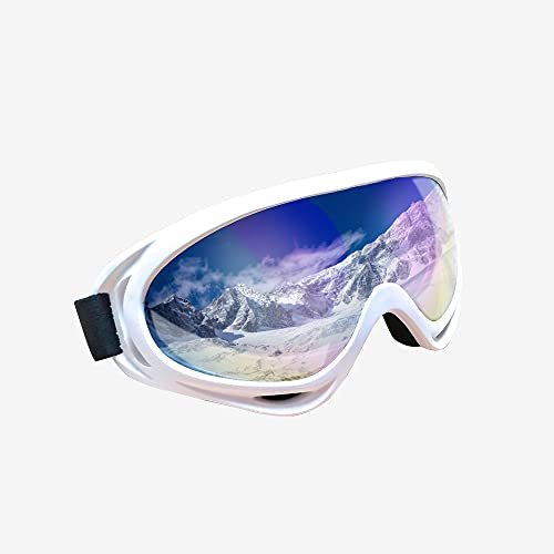 Ski Snowboard Goggles UV Protection Anti Fog Snow Goggles for Men Women Youth