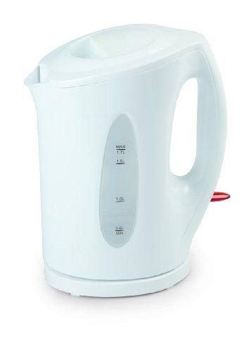 DOMO 6018819 Wasserkocher, Plastik, weiß