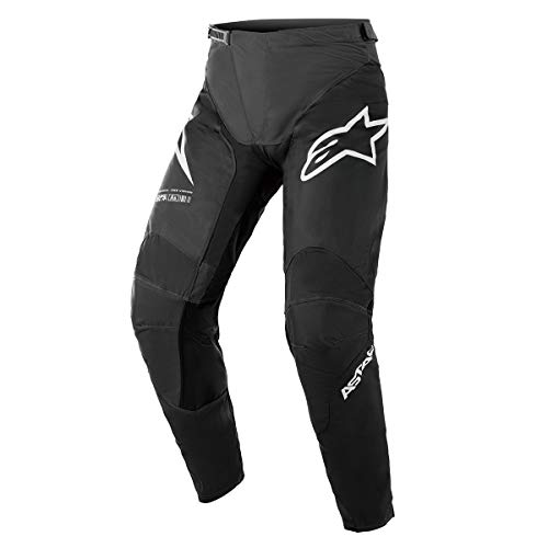 Alpinestars Racer Braap Pantaloni Motocross Nero/Bianco 36