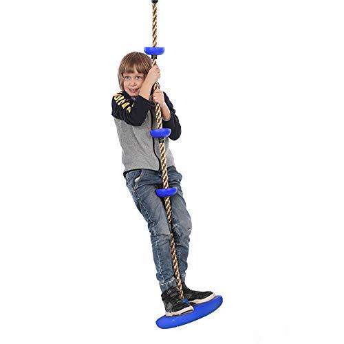 Columpios para niños, cinturones de escalada de disco grandes y grandes, accesorios para patio de juegos con plataforma y kit de asiento de columpio de disco