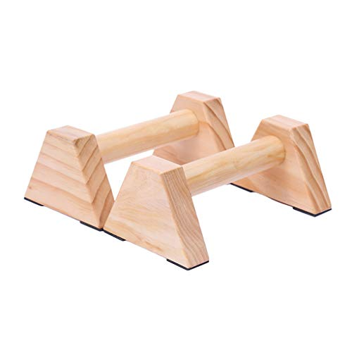 Best Buy! KOVIPGU Pine Wood Set of 2PCS | Beautiful, Smooth, Non-Slip Yoga & Gymnastic Training to